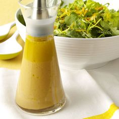 Citrus Vinaigrette Dresing:  •1/4 cup orange juice  •3 tablespoons red wine vinegar  •2 teaspoons honey  •1-1/2 teaspoons Dijon mustard  •1 tablespoon olive oil