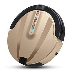 Amazon.com - intelligent robot vacuum cleaner sweeping automatic charging mopping WiFi sweeper slim Tyrant gold -