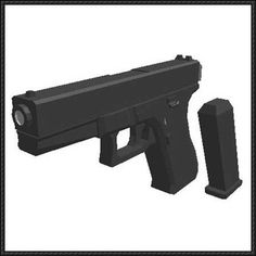 Full Size Heckler & Koch USP Pistol Paper Model Free Download - http ...