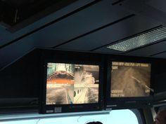 Allure of the Seas. Private tour of the Captain's control bridge.