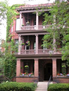 Casa natal de F. Scott Fitzgerald en Saint Paul, (Minesota), EE.UU.