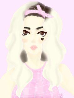 My drawing of Marina from Marina and the Diamonds!! Art by ♥︎Mocha Senpai♥︎