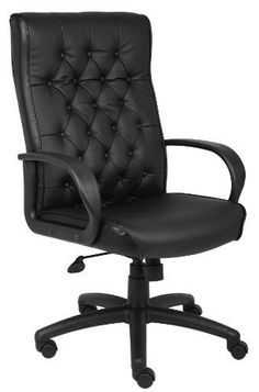 Boss Office Products B8501BK Button Tufted Executive Chair in Black -- See this great product. (This is an Amazon Affiliate link and I receive a commission for the sales)