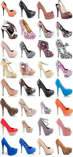 Shoes..  Shoes..  Shoes..
