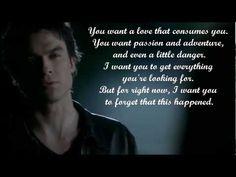 Damon Salvatore Quotes - Vampire Diaries Season 3 - Best Character Quotes | The Vampire Diaries