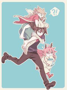 Senyuu: Alba, Ros, and Ruki