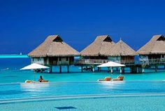 Bora Bora-- this is my happy place. Will likely be here on our honeymoon :)
