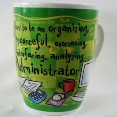 OCCUPATION MUG - ADMINISTRATOR