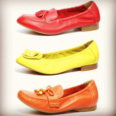 Exclusive to Caprice super soft leathers in great styles and summer colours! Head to www.facebook.com/CapriceFootwear for more info on styles! #fashion #summer #comfort #shoes #leather #colourful