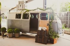 Objetos vintage: kombi no décor - Foto Marina Lomar Fotografia