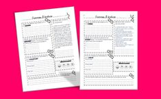 Gammes d'Ecriture Cycle 3, French Class, Teaching French, French Language, 5th Grades, Kids Learning, Literacy, Bullet Journal, Classroom