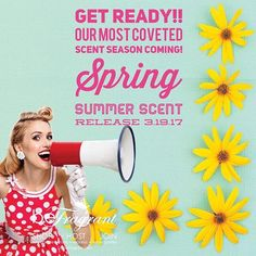 ReFresh Your Scents with a New Season!  Coming Soon!  Only 9 more days!  Don't forget to tag 3 of your scent snobs!! Click GObeFragrant.com to learn more! #springsummer #scented #dyefree #homefragrance #madeinusa #melts #nodye #notoxins #paraffinfree #rethink #scent #scentedwax #scentedmelts #scentedsoywax #scents #smellsgood #smellssogood #smelly #soymelts #waxmelts #bloggermom #bloggermoms #scentedmelts #scentedsoywax #scentedwax #soycandles #travelcandles #sexyscent #wickless #safescents