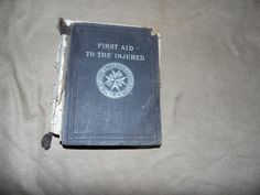 Very rare 1st edition 1901 The St John Ambulance association hardback book