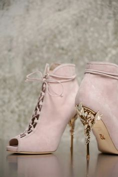 8c2ea5293246 Pink Booties Ralph  amp  Russo Ralph And Russo Shoes