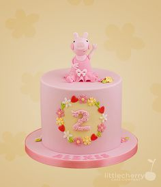 Little Cherry Cake Company - Peppa Pig Cake