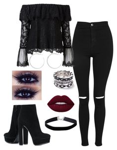 A fashion look from August 2017 by katiejoe featuring Witchery, Topshop, Casadei, Miss Selfridge and WithChic Bad Girl Outfits, Swag Outfits, Retro Outfits, Cute Casual Outfits, Stylish Outfits, Girls Fashion Clothes, Teen Fashion Outfits, Really Cute Outfits, Beautiful Outfits