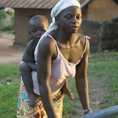 #Mother and Child#GHANA