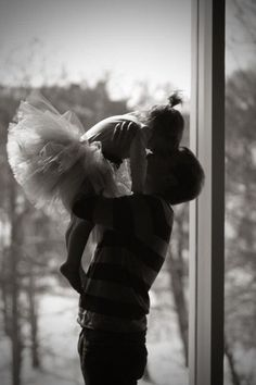 Cutest picture of a father daughter.  I want a picture of Colton and Kaloni like this