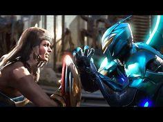 YouTube Injustice 2 Wonder women