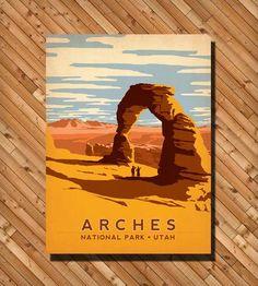 National Park Prints for a boys room