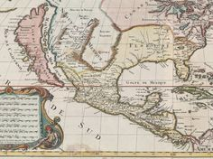 18 Maps From When the World Thought California Was an Island | Detail from a French map published in the late 1600s. GLEN MCLAUGHLIN MAP COLLECTION / STANFORD UNIVERSITY  | WIRED.com