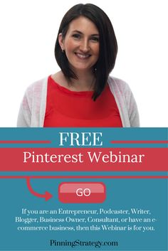 Are you wanting to learn how to grow your business with Pinterest? Come and join this FREE Pinterest Webinar where I will teach my secret and proven strategies on how I grew 600% in the first month!