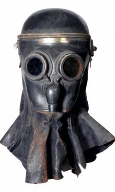 The smoke masks were used in the 19th century