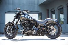Miller High Life Softail Slim - Blog - Motorcycle Parts and Riding Gear - Roland Sands Design