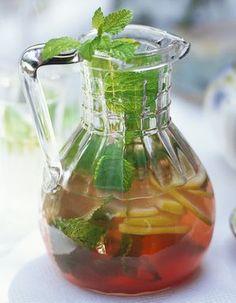 Cocktail gin - thé à la menthe