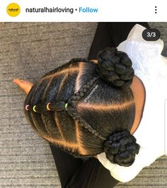 Black Baby Girl Hairstyles, Little Girls Natural Hairstyles, Cute Toddler Hairstyles, Childrens Hairstyles, Kids Curly Hairstyles, African Kids Hairstyles, Princess Hairstyles, Hairstyles Videos, Little Girl Braids
