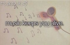 Music keeps me alive, i wouldnt be here without BVB, PTV, ADTR, SWS, FOB, OM&M, and alot more
