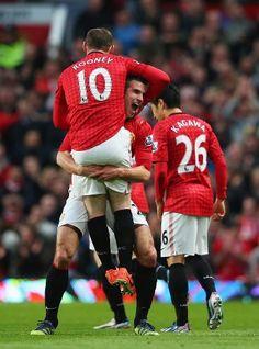 Manchester United 3-0 Aston Villa | #Champions2013