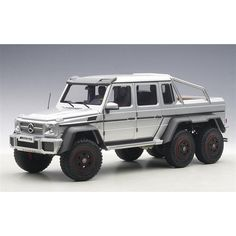Brand new scale model car of Mercedes AMG Silver car model by Autoart. Brand new box. Has steerable wheels. Mercedes Jeep, Mercedes G Wagon, Aigle Animal, 6x6 Truck, Overland Truck, Badass Jeep, G63 Amg, Bug Out Vehicle, Trucks And Girls