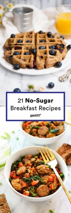 Because your morning meal probably shouldn't be dessert. #greatist http://greatist.com/eat/healthy-breakfast-recipes-with-no-added-sugar