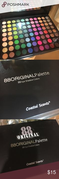 New in Box Coastal Scents 88 Eyeshadow Palette Brand new! Coastal Scents Makeup Eyeshadow