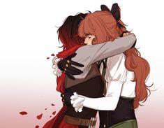 Rwby Anime, Rwby Fanart, Anime Demon Boy, Anime Kiss, Rwby Penny, Rwby Characters, Rwby Ships, Team Rwby, Anime Nerd