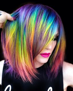 2019 Optimal Power Flow Exotic Hair Color Ideas for Hot and Chic Celebrity Hairstyles – Page 128 – My Beauty Note promi frisuren 2019 2019 Optimal Power Flow Exotic Hair Color Ideas for Hot and Chic Celebrity Hairstyles Exotic Hair Color, Beautiful Hair Color, Cool Hair Color, Best Hair Dye, Edgy Hair, Trendy Hair, Mermaid Hair, Celebrity Hairstyles, Pretty Hairstyles