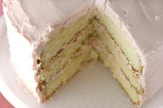 "another pinner said: ""seriously the best yellow cake ever. I've made it, and won't ever buy a yellow mix again!"""