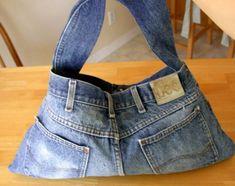 Como Fazer Bolsa de Calça Jeans