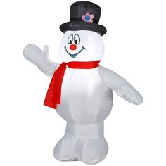 Airblown Frosty the Snowman  Available At These Retailers:  Canadian Tire, Home Hardware, Garden Ridge
