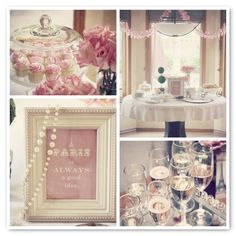Instead of a Parisian baby shower, a Parisian 1st birthday party