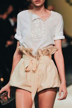 Satin Shorts + Top