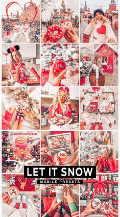 Let It Snow, Let It Be, Snow Pictures, Digital Art Girl, Outdoor Photography, Perfect Photo, Red Christmas, Artist At Work, Lightroom Presets
