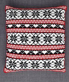 scandinavian knit pillow covers