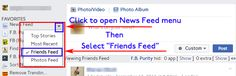 Make Facebook, Browser Extensions, Web Browser, Clean Up, Top Rated, Menu, Ads, Posts, Let It Be