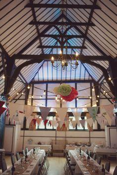 DIY Village Fete Wedding Bunting Festoon Lights Bunting http://www.rebeccadouglas.co.uk/blog/