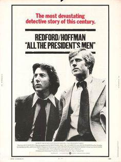 All The President's Men (1976)  -Intense journalistic craziness.