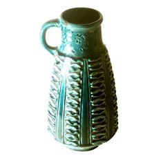 West German Pottery Pitcher
