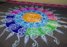 Get the best and latest Diwali rangoli design in here. Create these rangoli designs to ring in the festivals and special occasions with pomp and gaiety. Easy Rangoli Designs Diwali, Indian Rangoli Designs, Rangoli Designs Latest, Free Hand Rangoli Design, Rangoli Border Designs, Small Rangoli Design, Rangoli Patterns, Colorful Rangoli Designs, Rangoli Ideas