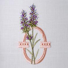 Lavender Scents Alphabet- O